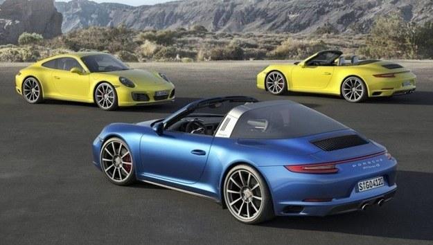 Zmodyfikowane Porsche 911 Carrera, Targa i Convertible /Porsche