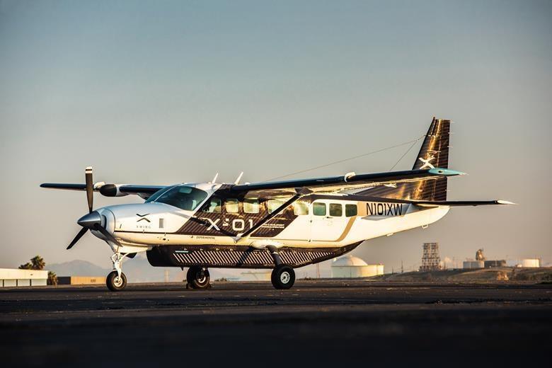 Zmodyfikowany samolot Xwing /materiały prasowe