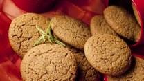 Zmysłowe smaki: Ciasteczka imbirowe