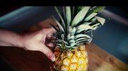 Zmysłowe smaki: Jak obrać ananasa?
