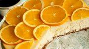 Zmysłowe smaki: Sernik z pomarańczami i białą czekoladą