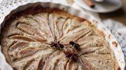 Zmysłowe smaki: Tarta gruszkowo-migdałowa