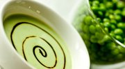 Zmysłowe smaki: Zupa krem z groszku