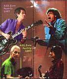 Znaczki z podobiznami muzyków The Rolling Stones /
