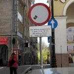 Znak, którego nikt nie widzi