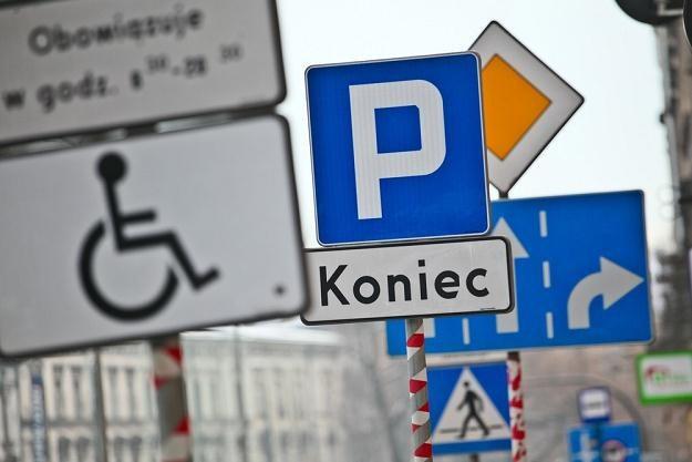 Znaki drogowe zostaną poddane audytowi / Fot: Szymon Blik /Reporter