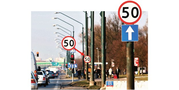 znaki drogowe /Motor