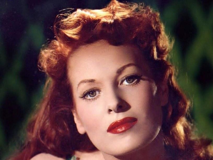 Znakiem rozpoznawczym Maureen O'Hary były wspaniałe, rude włosy /materiały prasowe