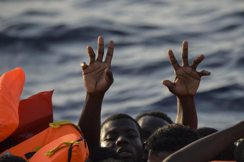 Znaleziono ciała trzech migrantów (zdj. ilustracyjne) /ANDREAS SOLARO /AFP