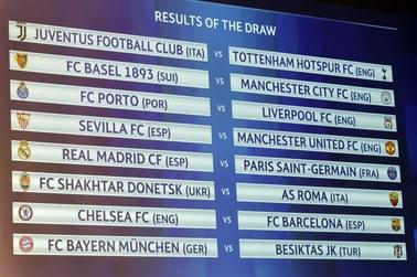 Znamy pary 1/8 finału Ligi Mistrzów