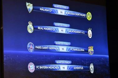 Znamy pary ćwierćfinałowe Ligi Mistrzów!