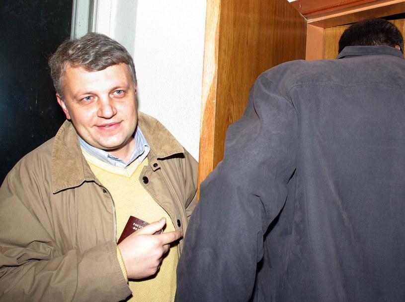 Znany dziennikarz Paweł Szeremet został zamordowany w Kijowie /Wiktor Tolochko, ITAR TASS /Agencja FORUM