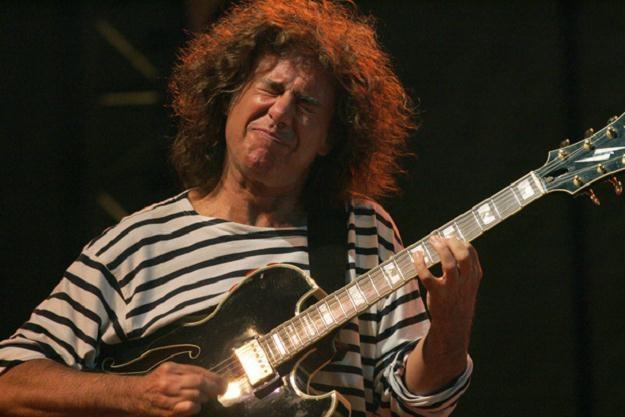 Znany gitarzysta Pat Metheny /AFP