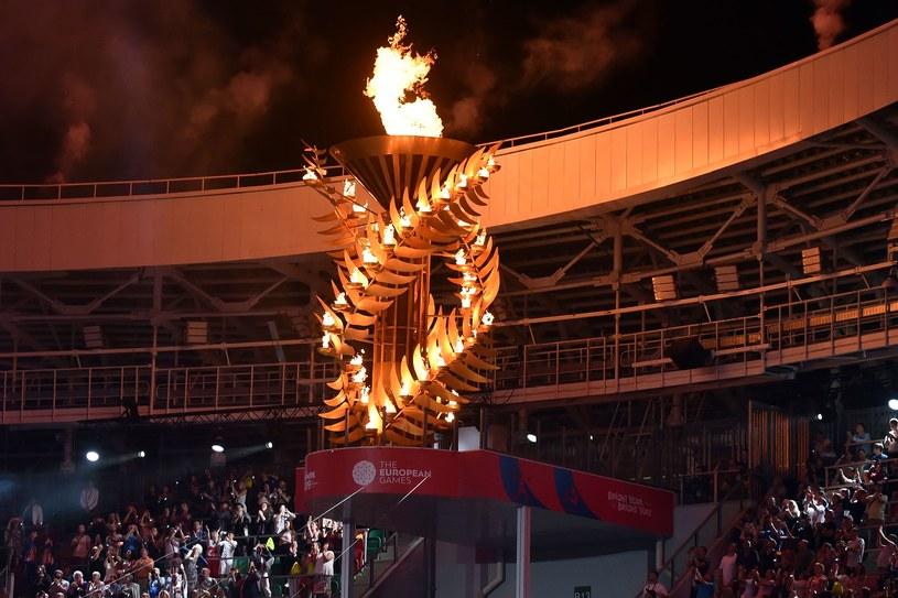 Znicz na Igrzyskach Europejskich w Mińsku /AFP