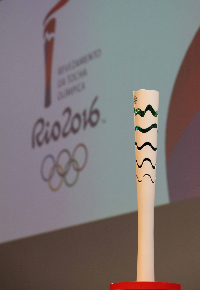 Znicz olimpijski /AFP