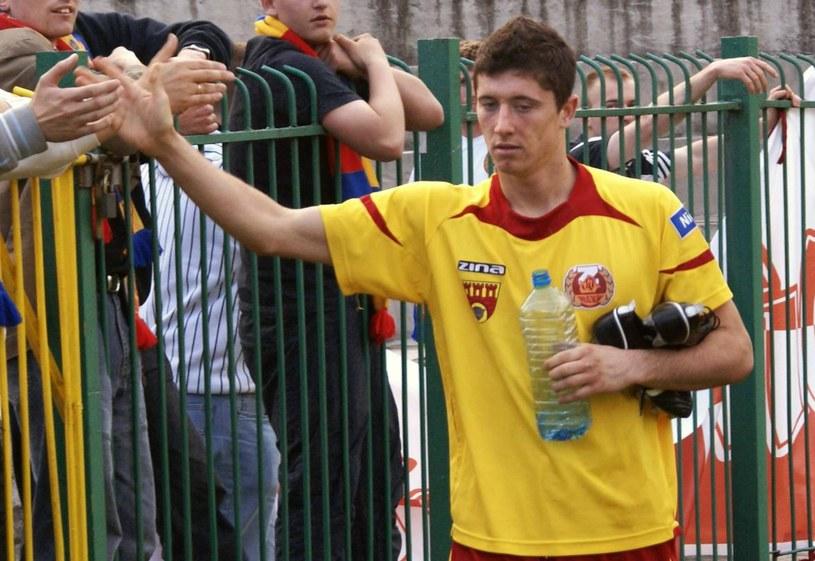 Znicz Pruszków - to z tego klubu Robert trafił do Ekstraklasy /Agencja FORUM