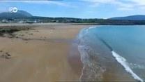 Znikająca plaża w Irlandii