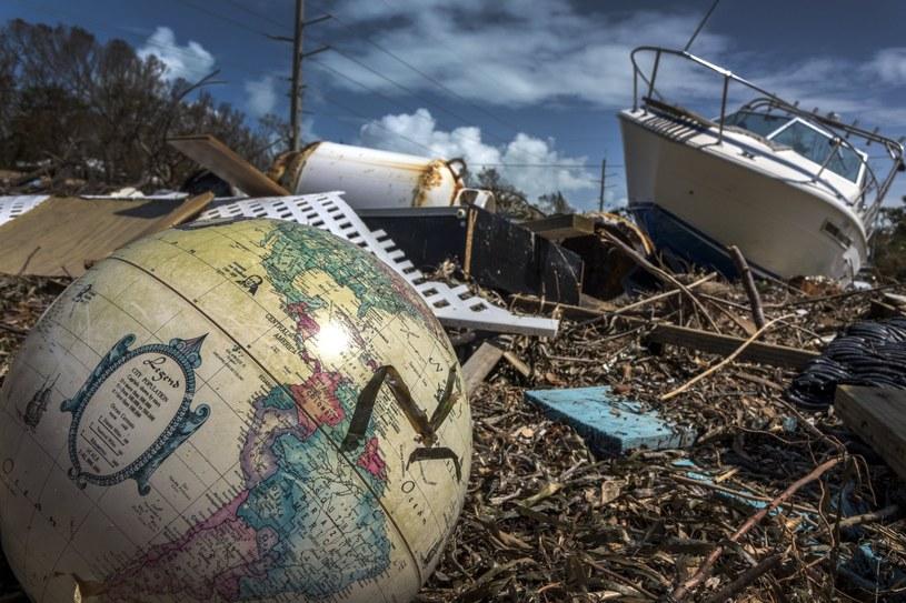 Zniszczenia na Florydzie po przejściu huraganu Irma /PAP/EPA