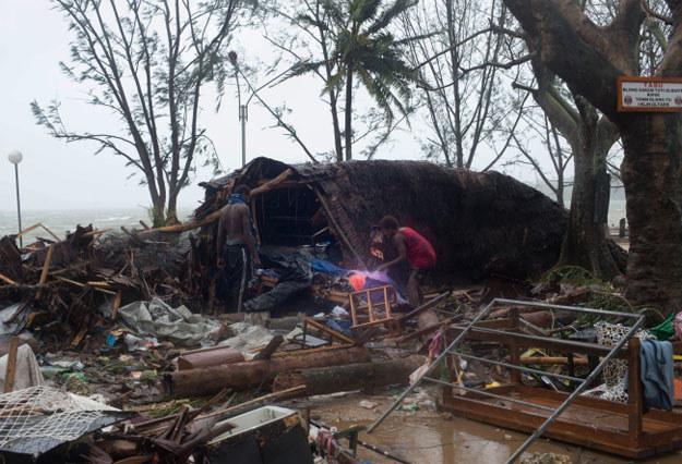 Zniszczenia na Vanuatu są ogromne /PAP/EPA