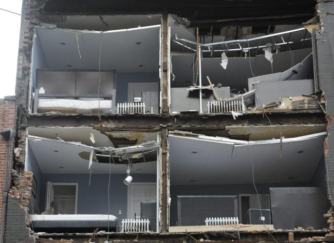 Zniszczenia po przejściu cyklonu Sandy /PAP/ EPA /PAP/EPA
