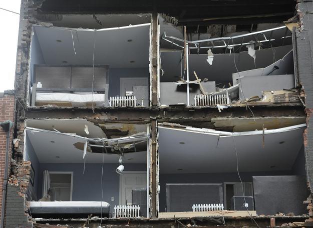Zniszczenia po przejściu Sandy /PAP/EPA