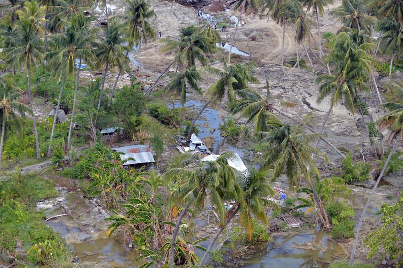 Zniszczenia po tsunami na Środkowym Sulawesi /ADEK BERRY /AFP