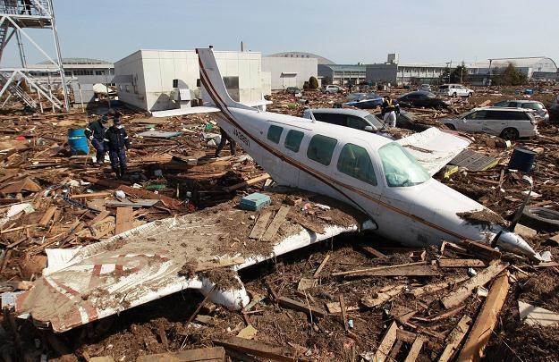 Zniszczenia po tsunami są kolosalne /AFP