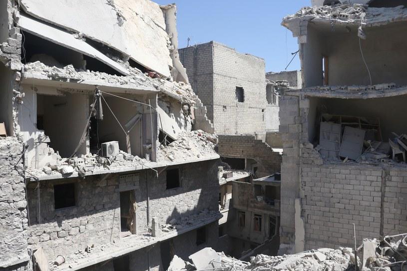 Zniszczenia po walkach w Syrii, zdj. ilustracyjne /Abaca /East News