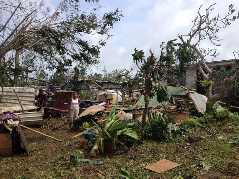 Zniszczenia są tak duże ponieważ konstrukcja większości domów na archipelagu jest bardzo słaba /AFP