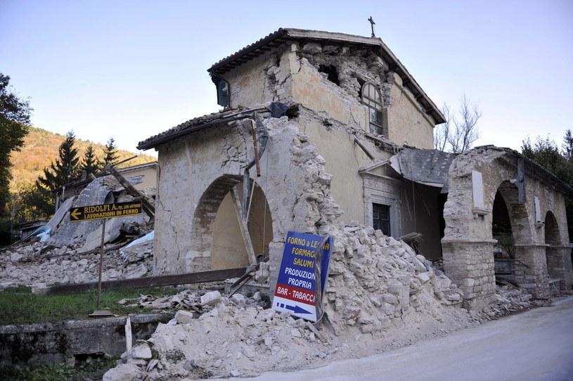 Zniszczenia spowodowane trzęsieniem ziemi /CRISTIANO CHIODI /PAP/EPA