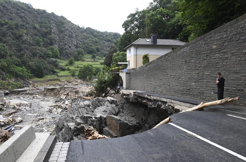 Zniszczenia w Altenahr; zdj. ilustracyjne /AFP