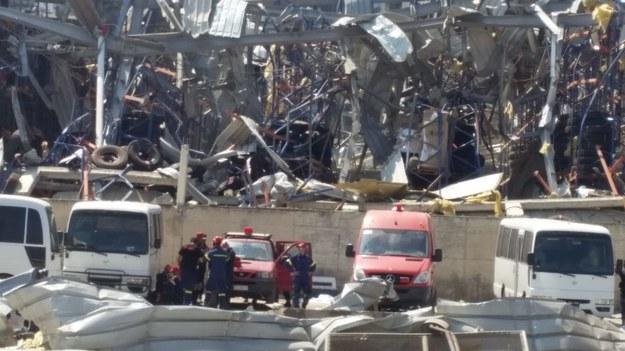Zniszczenia w Bejrucie /PCPM /