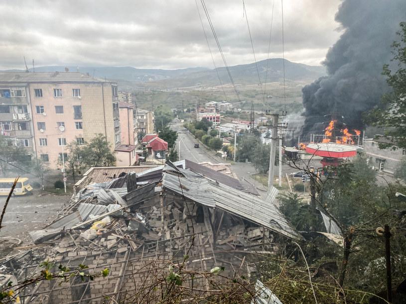 Zniszczenia w  Górskim Karabachu /Pablo Gonzalez /East News