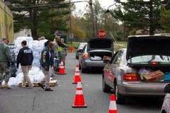 Zniszczenia w stanie New Jersey po ataku Sandy