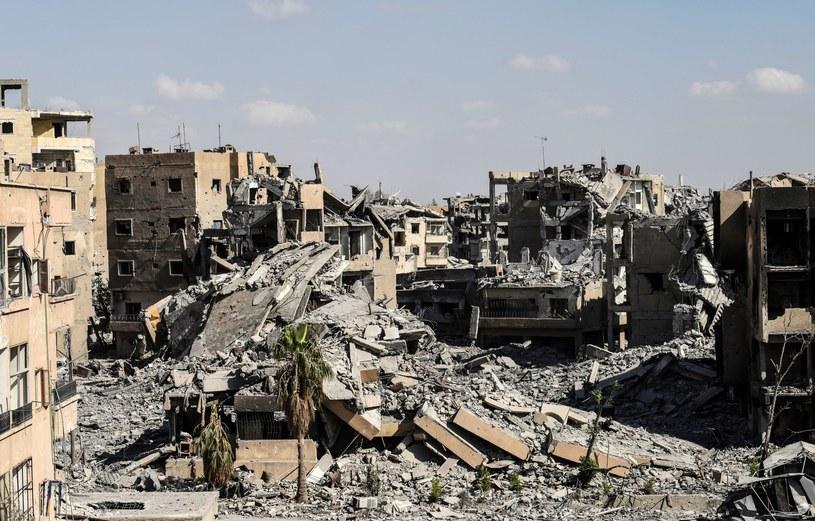Zniszczenia w Syrii /BULENT KILIC /AFP