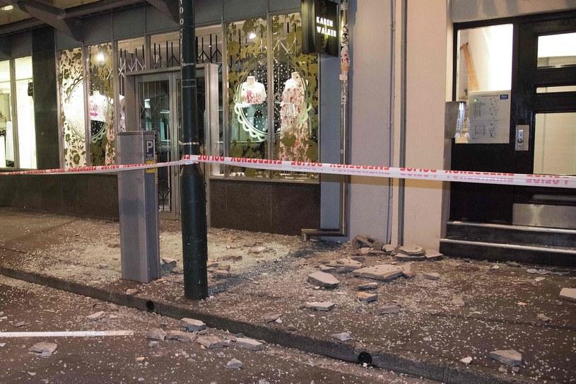 Zniszczenia w Wellington /AFP