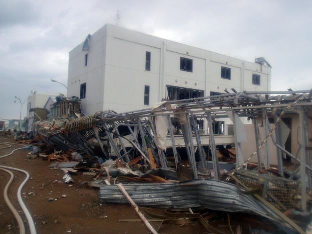 Zniszczona elektrownia atomowa Fukushima /AFP