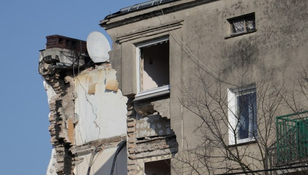 Zniszczona kamienica w Poznaniu /Michał Dukaczewski /RMF FM