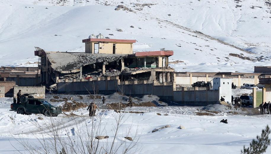 Zniszczona placówka afgańskiego wywiadu /JAWAD JALALI /PAP/EPA