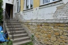 Zniszczona świetlica środowiskowa w Krzczonowicach w Świętokrzyskiem