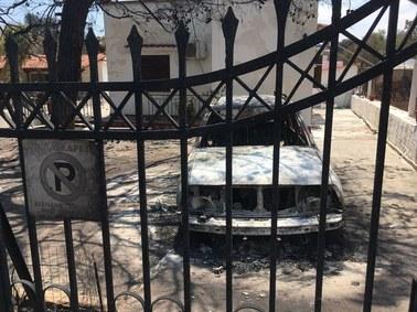 Zniszczone domy, czarne kikuty drzew, swąd spalenizny… Relacje wysłannika RMF FM z Grecji