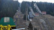 Zniszczone skocznie narciarskie w  Mt. Igman niedaleko Sarajewa. Wybudowane na zimową olimpiadę w 1984 roku, dziś kompletnie zapomniane. Zdjęcie wykonanow w 2014 roku.