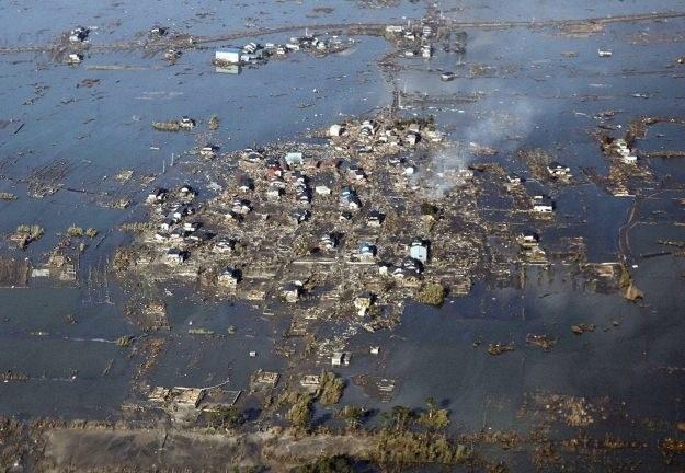 Zniszczone w wyniku trzęsienia ziemi domy w Watari /AFP