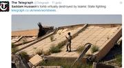 Zniszczono grobowiec Saddama Husajna