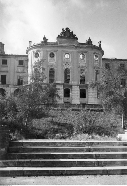 Ruiny Zamku Królewskiego w Warszawie
