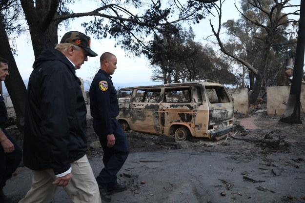 Zniszczonych jest ok. 12 tys. budynków /GENARO MOLINA  /PAP/EPA