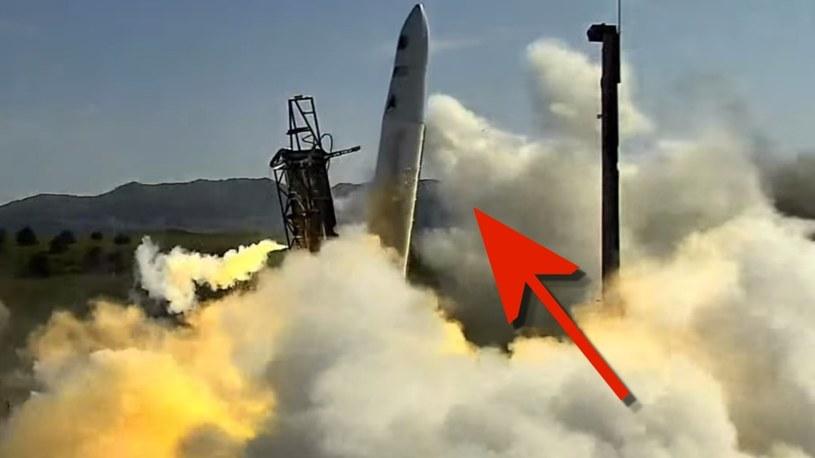 Zobacz dziwny lot boczny startującej rakiety od firmy Astra [WIDEO] /Geekweek
