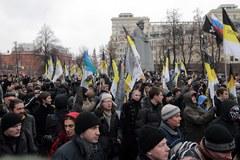 Zobacz, jak przebiega demonstracja w Moskwie