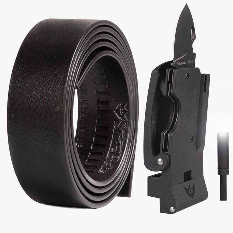 Zobacz jakie narzędzia kryją się w Survival Belt /materiały prasowe