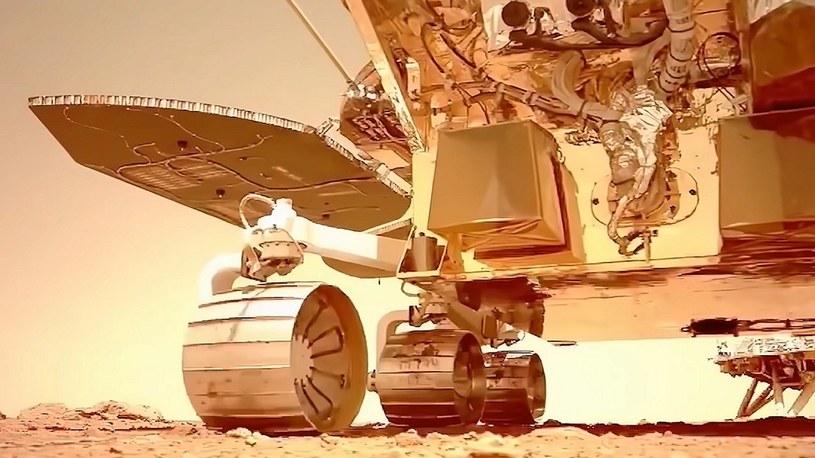 Zobacz pierwszy film w jakości 4K z chińskiego łazika na Marsie [WIDEO] /Geekweek